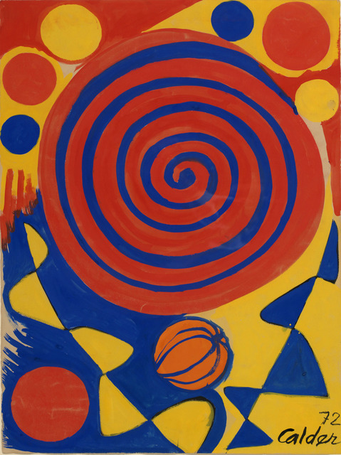 , 'Spiral with Pumpkin,' 1972, Rosenbaum Contemporary