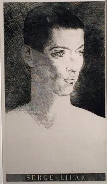 Louis Marcoussis, 'SERGE LIFAR', 1933, Edward T. Pollack Fine Arts
