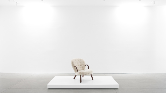 , ''Clam' Chair,' ca. 1940, Peter Blake Gallery