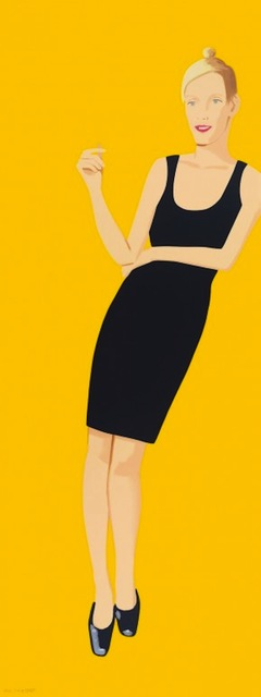 Alex Katz, 'Black Dress Portfolio - Oona', 2015, Gregg Shienbaum Fine Art