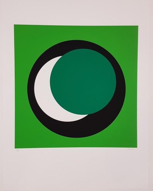 Geneviève Claisse, 'Dark Green Circle (Cercle vert foncé)', 2015, Cerbera Gallery