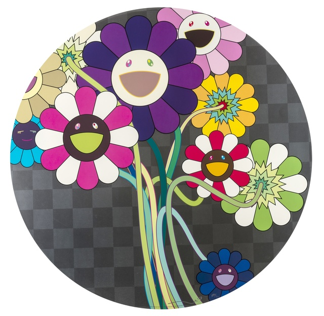 Takashi Murakami, 'Purple Flowers in a Bouquet', 2011, Forum Auctions
