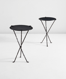 "Elizabeth Garouste and Mattia Bonetti, 'Pair of ""Comtesse"" guéridons,' designed 1990, Phillips: Design"