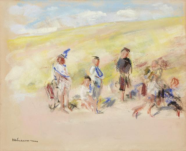 , '»Am Strand«,' ca. 1903, Ludorff