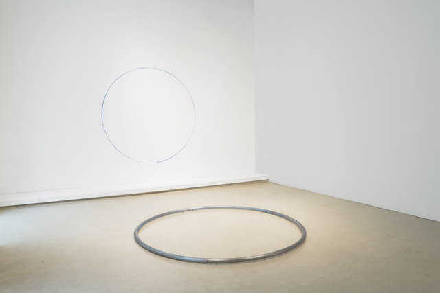 , 'Situación de un círculo azul,' 2018, Herlitzka + Faria