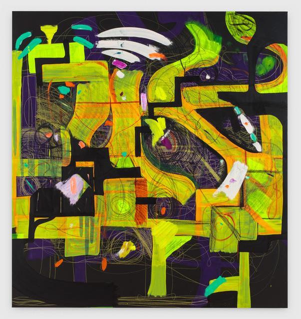 Joanne Greenbaum, 'Untitled', 2016, Rachel Uffner Gallery
