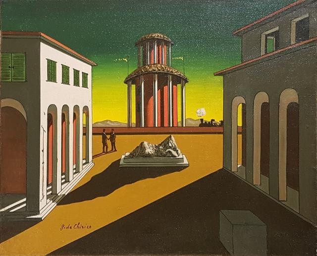 Giorgio de Chirico, 'Piazza d'Italia ', Galleria d'Arte Maggiore G.A.M.