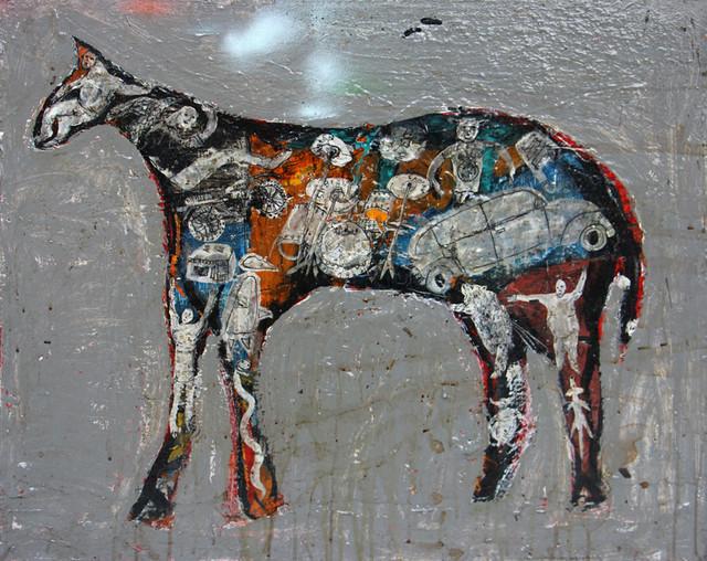 , 'Grey Horse,' 2017, Bau-Xi Gallery
