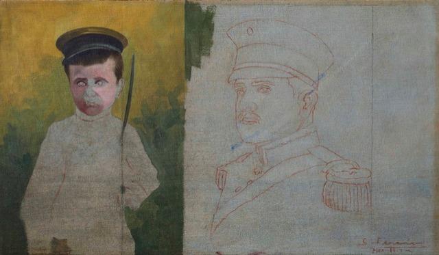 , 'Niño Soldado,' 1917, Andrés Siegel / Arte