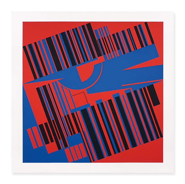 , 'Durchdringungen II,' 1971, Walter Storms Galerie