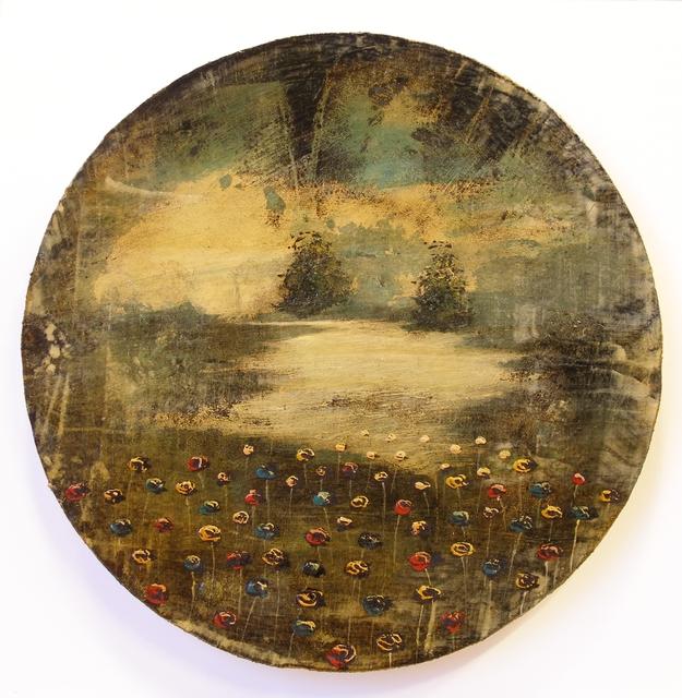 , 'Auri sacra fames IX,' 2017, Galleria Punto Sull'Arte