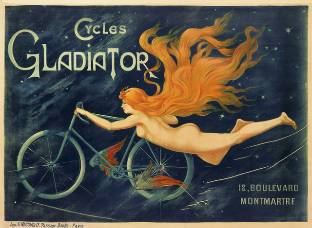, 'Cycles Gladiator - Bicycle ,' 1900, Omnibus Gallery