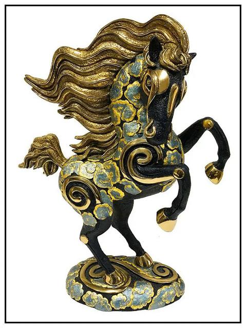 Jiang Tiefeng, 'Tang Dynasty Horse', 1994, Sculpture, Full Round Bronze Sculpture, Original Art Broker