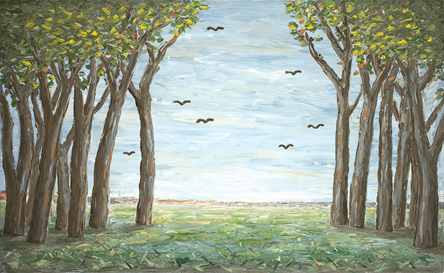 , 'Painting 2010 (Trees and Birds),' 2010, Olsen Irwin