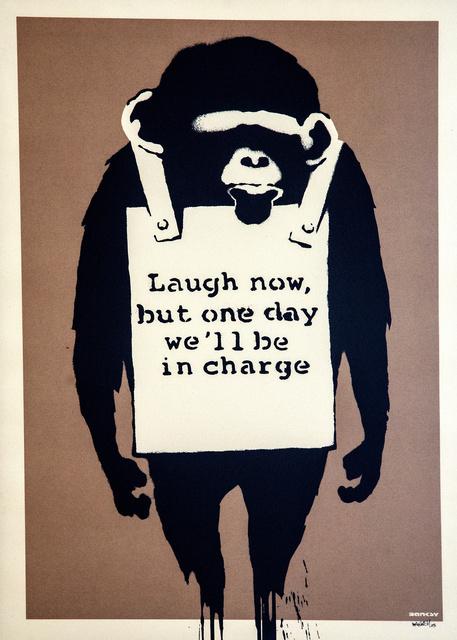 Banksy, 'Laugh Now', 2003, Gerald Hartinger Fine Arts