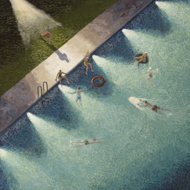 Bruce Ackerson, 'Night Swimming', 2017, Rice Polak Gallery