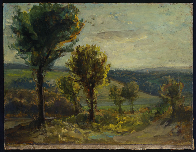 , 'Landscape near Champrosay,' 1850, The National Gallery, London