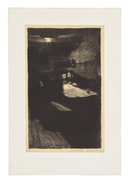 Käthe Kollwitz, 'Conspiracy', 1893-1897, Galerie St. Etienne