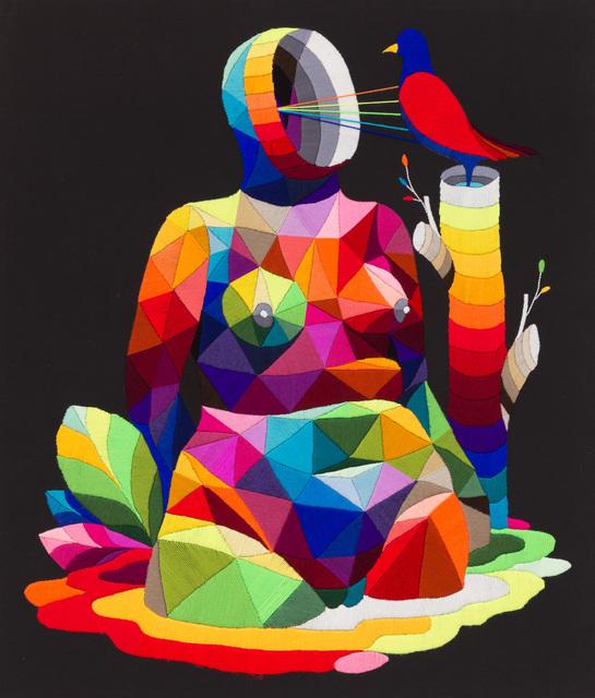Okuda San Miguel, 'Mom's Bird', 2016, Underdogs Gallery