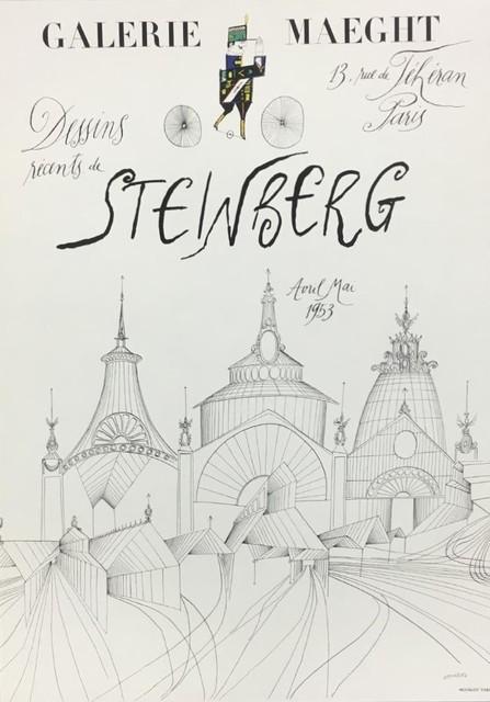 Saul Steinberg, 'Dessins Récents de Steinberg- Gallerie Maeght', Unknown, The Loft Fine Art