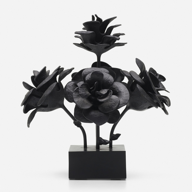 Will Ryman, '60th Street Rose Maquette (black)', 2012, Wright