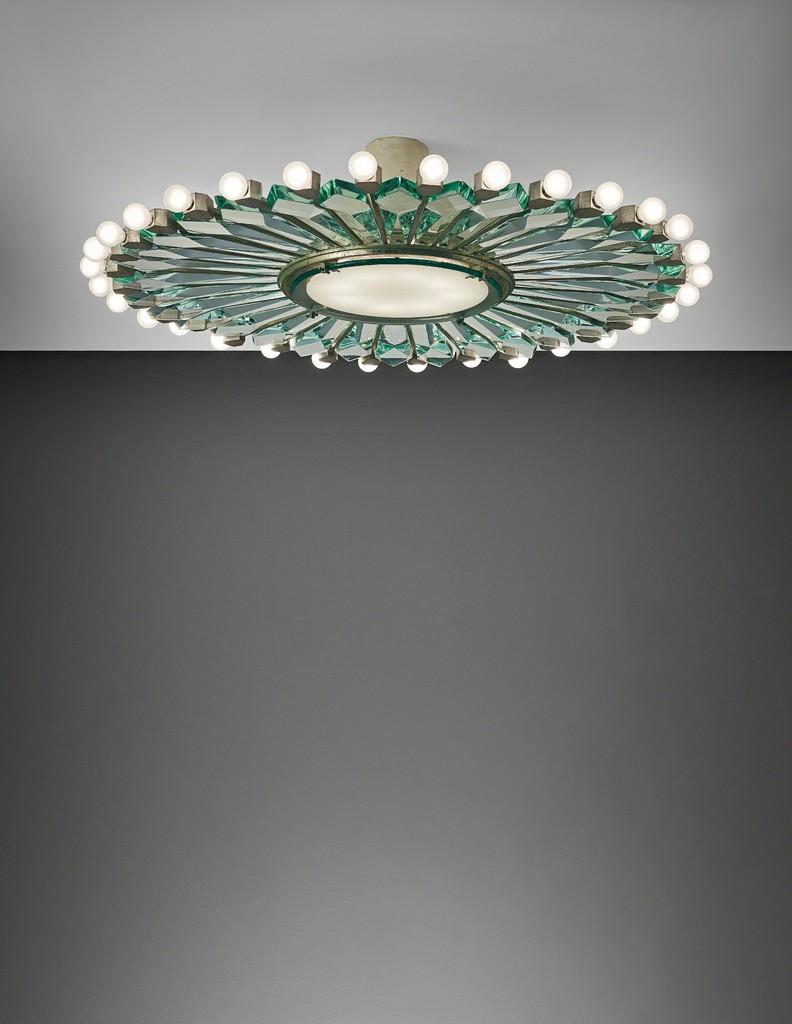 Rare ceiling light, model no. 2243