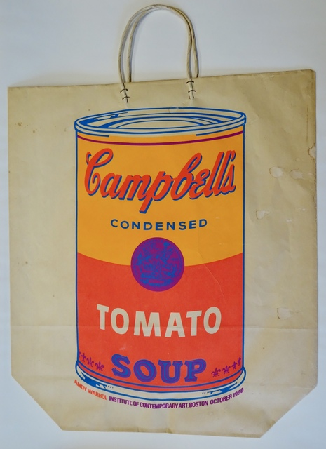 , 'Campbell's Soup Can on Shopping Bag,' 1966, Verosa