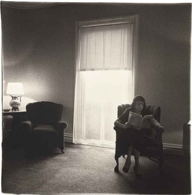 Diane Arbus, 'Lady in a rooming house parlor, Albion, NY', 1963, Phillips