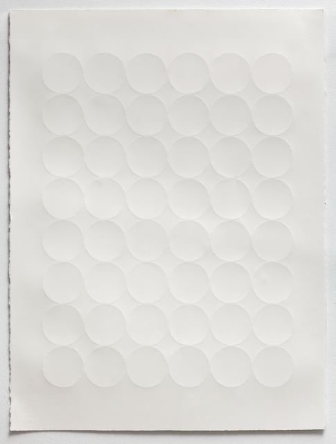 , 'Grid Relief II,' 2016, Miranda Kuo Gallery