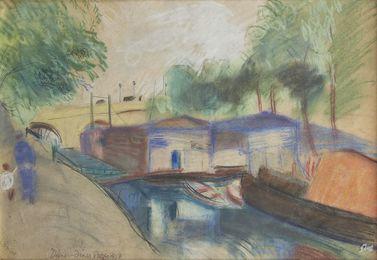 Un canal (a Canal), Paris