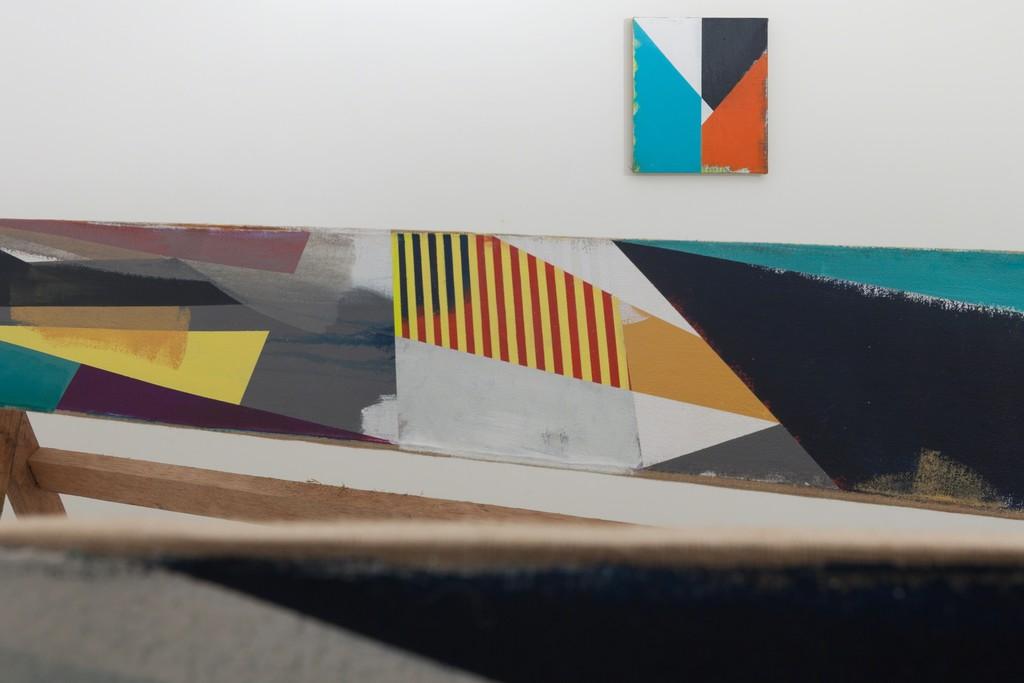 Front to back: Jaime Gili — Cuarto derecho (2015) / Tercer derecho (2015) / B38 (2015)