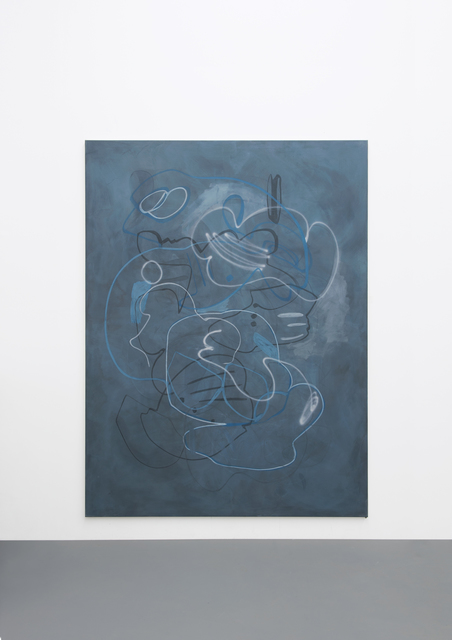 Ute Müller, 'Untitled  ', 2015, Painting, Eggtempera on canvas, One Work Gallery