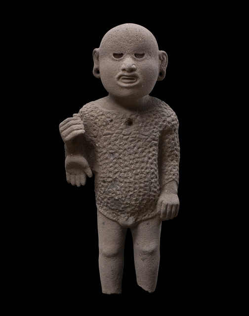 , 'Sculpture representing the God Xipe Totec Aztec, Mexico,' 1300-1521 A.D., Galerie Mermoz