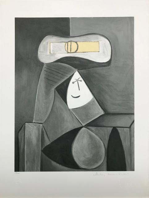 Pablo Picasso, 'FEMME AU CHAPEAU GRIS', 1979-1982, Gallery Art