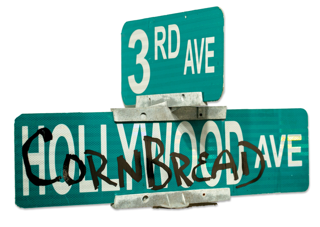 Cornbread, 'Cornbread Hollywood Ave', 2019, Paradigm Gallery + Studio