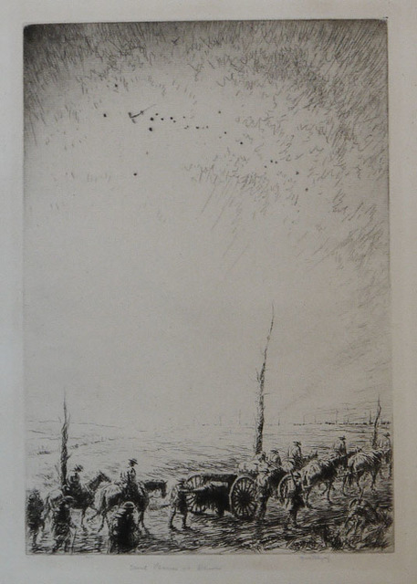 , 'Scout Planes at Dawn,' 1928, Osborne Samuel