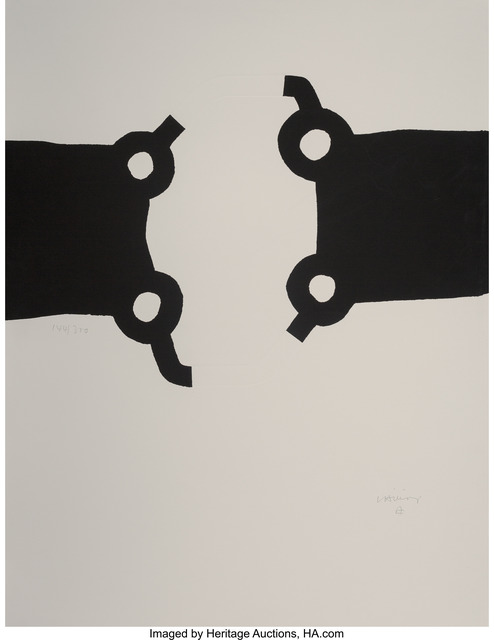 Eduardo Chillida, 'Competition, from Official Arts Portfolio of the XXIVth Olympiad, Seoul, Korea', 1988, Heritage Auctions
