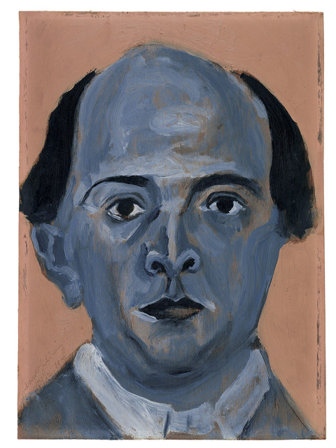 , 'Blue Self Portrait,' 1910, The National Gallery, London