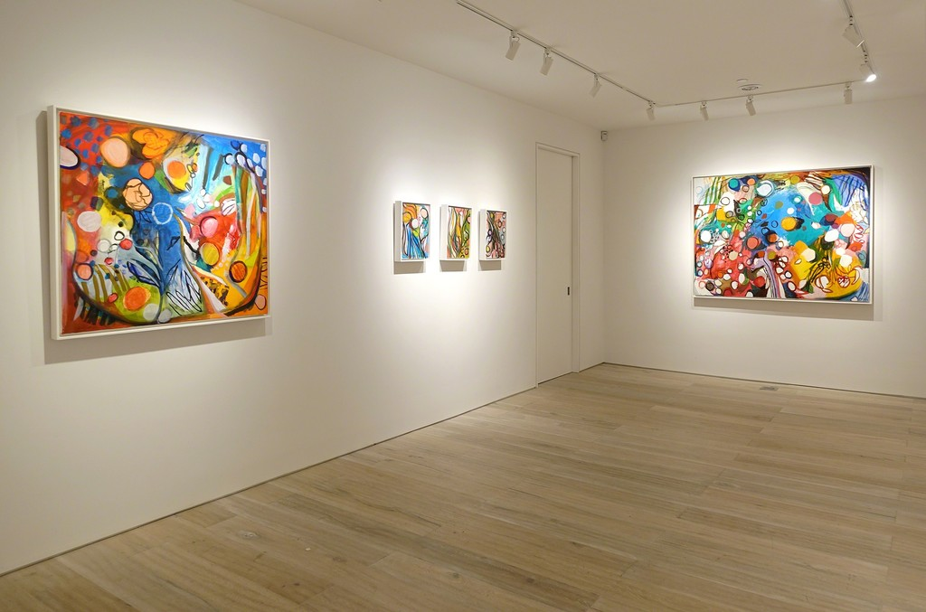 Installation view - Bill Scott: Leaf and Line