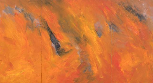 Joe Goode, 'Forest Fire #97', 1984, Painting, Oil on canvas, Hindman