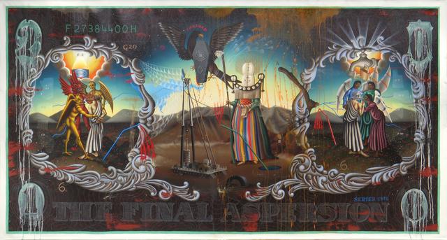 , 'THE FINAL ASPERSION,' 2018, La Luz de Jesus Gallery
