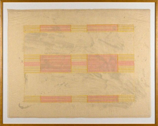 Ed Moses, 'Navajo Quilt (from the London Series)', 1972, bG Gallery