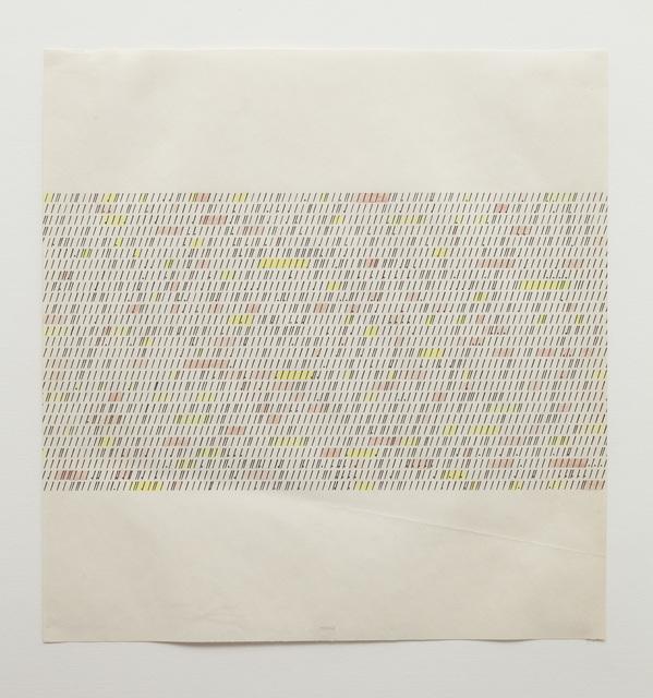 , 'Typewriter Drawing,' 1967, P!