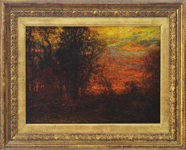 , 'Evening Glow,' , Eisele Fine Art