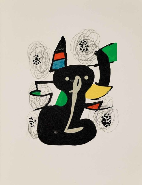 Joan Miró, 'Untitled (La Mélodie Acide, M.1214)', 1980, Martin Lawrence Galleries
