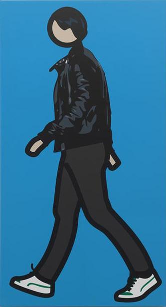 , 'Robbie walking 1,' 2012, Galerie Bob van Orsouw