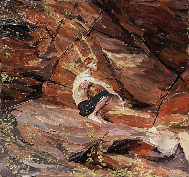, 'Allen wearing his Stambok Ritual Action Camera Headpiece,' 2017, Barnard Gallery