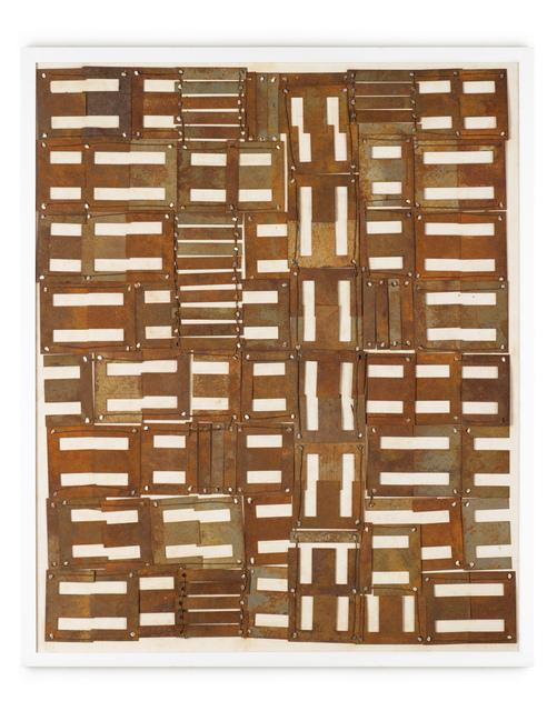 , 'Chapas y clavos,' 2013, Piero Atchugarry Gallery