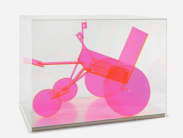 , 'Rollstuhlbaukasten (rot) ,' 1975, Galerie Steinek
