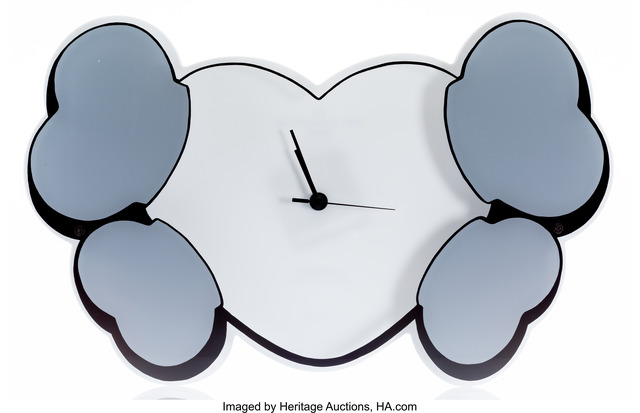 KAWS, 'Hectic x Crossbone Wall Clock Edition 1', 2000, Heritage Auctions